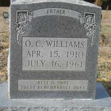 WILLIAMS, O C - Hempstead County, Arkansas   O C WILLIAMS - Arkansas Gravestone Photos