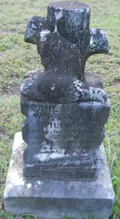 WILLIAMS, PAUL - Hempstead County, Arkansas   PAUL WILLIAMS - Arkansas Gravestone Photos