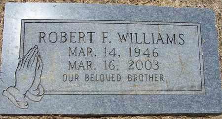 WILLIAMS, ROBERT F - Hempstead County, Arkansas   ROBERT F WILLIAMS - Arkansas Gravestone Photos