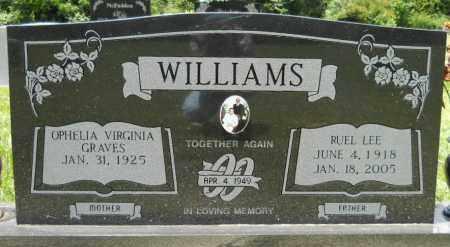 WILLIAMS, RUEL LEE - Hempstead County, Arkansas | RUEL LEE WILLIAMS - Arkansas Gravestone Photos