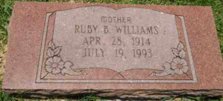 WILLIAMS, RUBY B - Hempstead County, Arkansas | RUBY B WILLIAMS - Arkansas Gravestone Photos