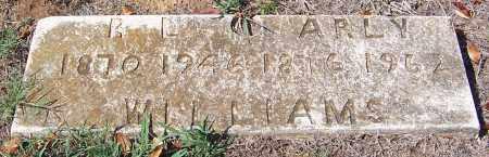 WILLIAMS, ARLY A - Hempstead County, Arkansas | ARLY A WILLIAMS - Arkansas Gravestone Photos