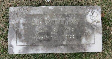 WILLIAMS, SID - Hempstead County, Arkansas   SID WILLIAMS - Arkansas Gravestone Photos