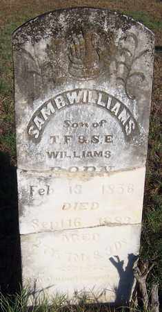 WILLIAMS, SAM B - Hempstead County, Arkansas   SAM B WILLIAMS - Arkansas Gravestone Photos