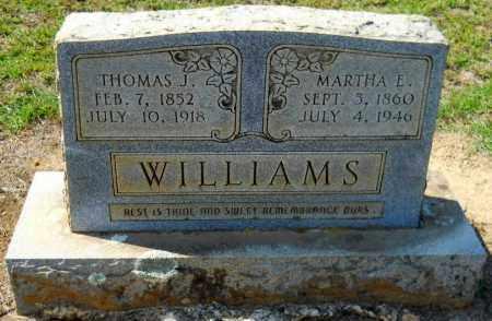 WILLIAMS, THOMAS J - Hempstead County, Arkansas   THOMAS J WILLIAMS - Arkansas Gravestone Photos