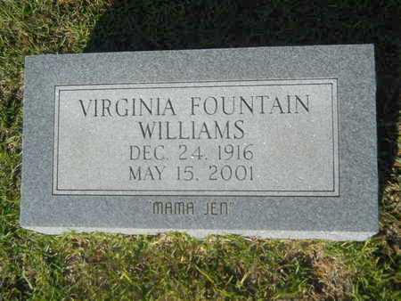 WILLIAMS, VIRGINIA - Hempstead County, Arkansas | VIRGINIA WILLIAMS - Arkansas Gravestone Photos