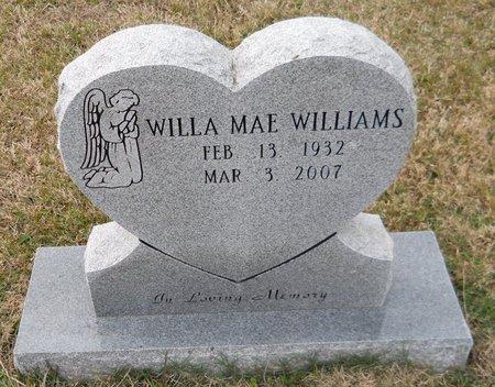 WILLIAMS, WILLA MAE - Hempstead County, Arkansas | WILLA MAE WILLIAMS - Arkansas Gravestone Photos