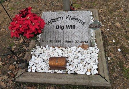 WILLIAMS, WILLIAM JOSEPH (CLOSEUP) - Hempstead County, Arkansas   WILLIAM JOSEPH (CLOSEUP) WILLIAMS - Arkansas Gravestone Photos