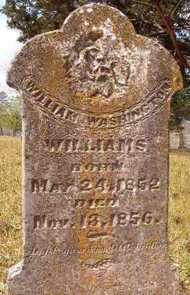 WILLIAMS, WILLIAM WASHINGTON - Hempstead County, Arkansas   WILLIAM WASHINGTON WILLIAMS - Arkansas Gravestone Photos