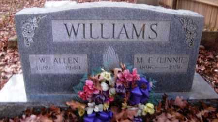 WILLIAMS, W ALLEN - Hempstead County, Arkansas | W ALLEN WILLIAMS - Arkansas Gravestone Photos