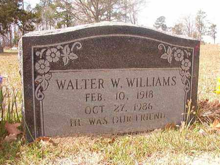 WILLIAMS, WALTER W - Hempstead County, Arkansas | WALTER W WILLIAMS - Arkansas Gravestone Photos