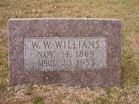 WILLIAMS, W W - Hempstead County, Arkansas   W W WILLIAMS - Arkansas Gravestone Photos