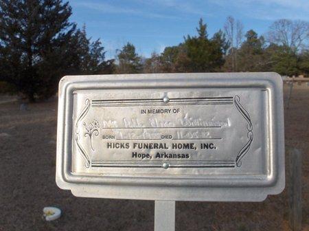 WILLIAMSON, ADDY ELMO - Hempstead County, Arkansas   ADDY ELMO WILLIAMSON - Arkansas Gravestone Photos