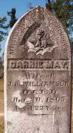 WILLIAMSON, CARRIE MAY - Hempstead County, Arkansas | CARRIE MAY WILLIAMSON - Arkansas Gravestone Photos