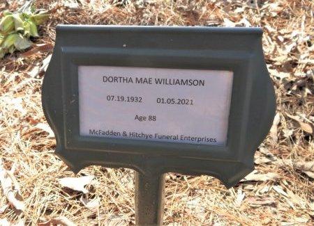 WILLIAMSON, DORTHA MAE (FHM) - Hempstead County, Arkansas | DORTHA MAE (FHM) WILLIAMSON - Arkansas Gravestone Photos