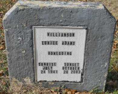 WILLIAMSON, EUNICE - Hempstead County, Arkansas | EUNICE WILLIAMSON - Arkansas Gravestone Photos