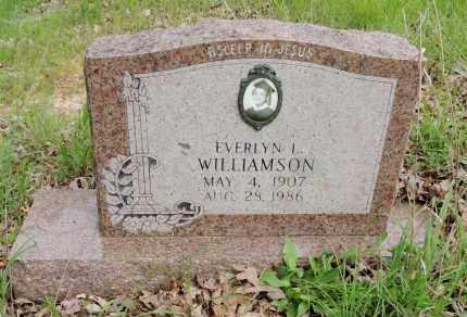 WILLIAMSON, EVERLYN L - Hempstead County, Arkansas   EVERLYN L WILLIAMSON - Arkansas Gravestone Photos