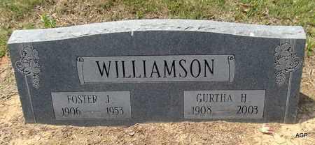 WILLIAMSON, FOSTER J (2ND) - Hempstead County, Arkansas | FOSTER J (2ND) WILLIAMSON - Arkansas Gravestone Photos