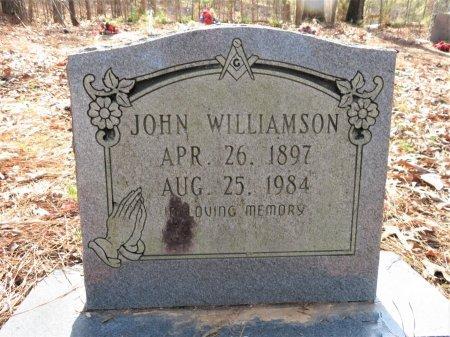 WILLIAMSON, JOHN - Hempstead County, Arkansas | JOHN WILLIAMSON - Arkansas Gravestone Photos