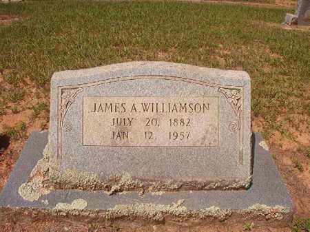 WILLIAMSON, JAMES A - Hempstead County, Arkansas | JAMES A WILLIAMSON - Arkansas Gravestone Photos