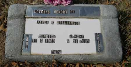 WILLIAMSON, JAMES E - Hempstead County, Arkansas   JAMES E WILLIAMSON - Arkansas Gravestone Photos