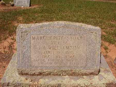 WILLIAMSON, MARGUERITE - Hempstead County, Arkansas | MARGUERITE WILLIAMSON - Arkansas Gravestone Photos