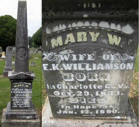 WILLIAMSON, MARY W - Hempstead County, Arkansas | MARY W WILLIAMSON - Arkansas Gravestone Photos