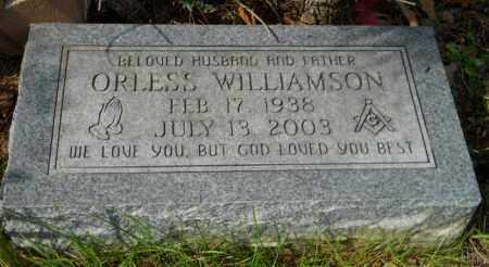 WILLIAMSON, ORLESS - Hempstead County, Arkansas | ORLESS WILLIAMSON - Arkansas Gravestone Photos