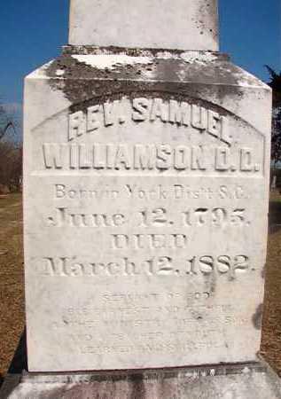 WILLIAMSON, SAMUEL, REV. D D - Hempstead County, Arkansas   SAMUEL, REV. D D WILLIAMSON - Arkansas Gravestone Photos