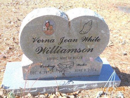 WILLIAMSON, VERNA JEAN - Hempstead County, Arkansas   VERNA JEAN WILLIAMSON - Arkansas Gravestone Photos