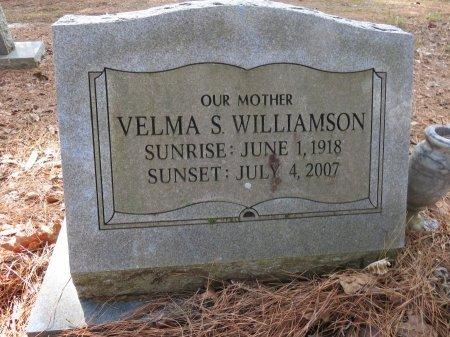 WILLIAMSON, VELMA S. - Hempstead County, Arkansas   VELMA S. WILLIAMSON - Arkansas Gravestone Photos