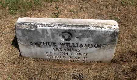 WILLIAMSON (VETERAN WWII), ARTHUR - Hempstead County, Arkansas | ARTHUR WILLIAMSON (VETERAN WWII) - Arkansas Gravestone Photos