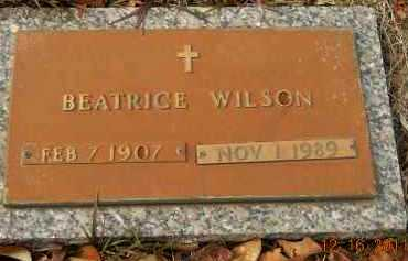 WILSON, BEATRICE - Hempstead County, Arkansas | BEATRICE WILSON - Arkansas Gravestone Photos