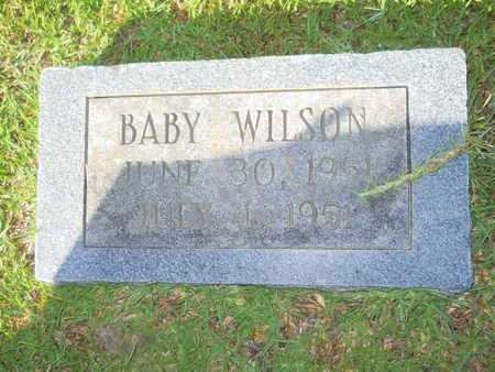 WILSON, BABY - Hempstead County, Arkansas | BABY WILSON - Arkansas Gravestone Photos