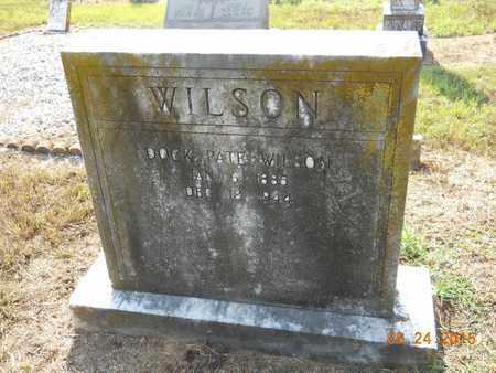 WILSON, DOCK PATE - Hempstead County, Arkansas | DOCK PATE WILSON - Arkansas Gravestone Photos