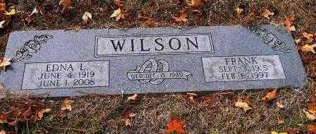 WILSON, EDNA L - Hempstead County, Arkansas | EDNA L WILSON - Arkansas Gravestone Photos