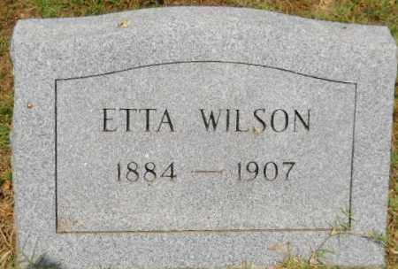 WILSON, ETTA - Hempstead County, Arkansas | ETTA WILSON - Arkansas Gravestone Photos