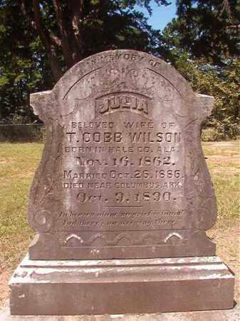 WILSON, JULIA - Hempstead County, Arkansas | JULIA WILSON - Arkansas Gravestone Photos