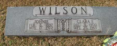 WILSON, JOHNIE - Hempstead County, Arkansas | JOHNIE WILSON - Arkansas Gravestone Photos