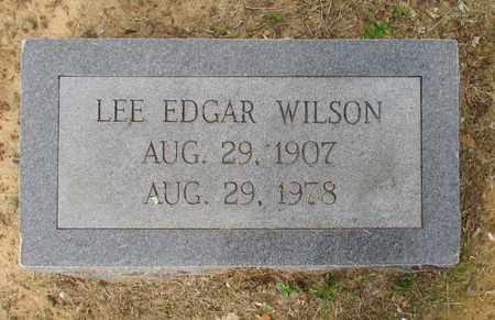 WILSON, LEE EDGAR - Hempstead County, Arkansas | LEE EDGAR WILSON - Arkansas Gravestone Photos