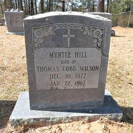WILSON, MYRTLE - Hempstead County, Arkansas | MYRTLE WILSON - Arkansas Gravestone Photos