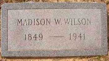 WILSON, MADISON W - Hempstead County, Arkansas | MADISON W WILSON - Arkansas Gravestone Photos