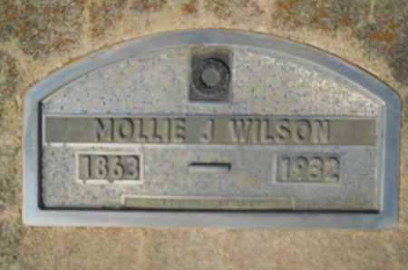 WILSON, MOLLIE J - Hempstead County, Arkansas | MOLLIE J WILSON - Arkansas Gravestone Photos