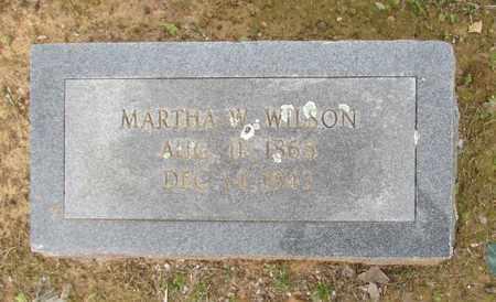 WILSON, MARTHA - Hempstead County, Arkansas   MARTHA WILSON - Arkansas Gravestone Photos