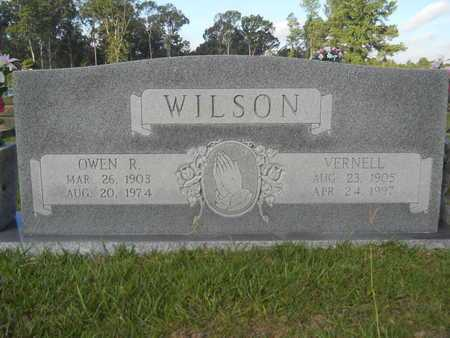WILSON, OWEN R - Hempstead County, Arkansas | OWEN R WILSON - Arkansas Gravestone Photos