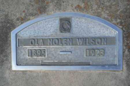 WILSON, OLA - Hempstead County, Arkansas | OLA WILSON - Arkansas Gravestone Photos