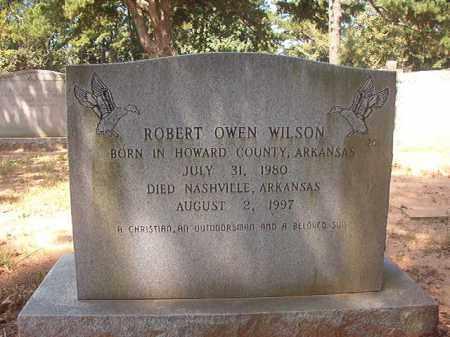 WILSON, ROBERT OWEN - Hempstead County, Arkansas | ROBERT OWEN WILSON - Arkansas Gravestone Photos