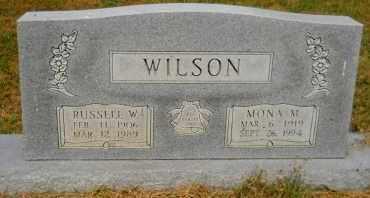 WILSON, MONA M - Hempstead County, Arkansas   MONA M WILSON - Arkansas Gravestone Photos
