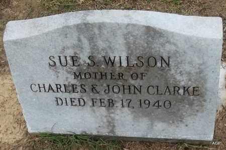 WILSON, SUE S - Hempstead County, Arkansas | SUE S WILSON - Arkansas Gravestone Photos