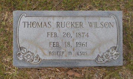 WILSON, THOMAS RUCKER - Hempstead County, Arkansas   THOMAS RUCKER WILSON - Arkansas Gravestone Photos